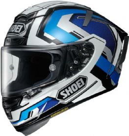 Shoei X-Spirit 3 Brink TC-2 Blue